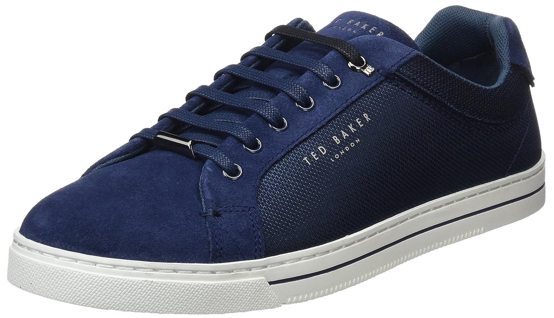 Ted Baker Eeril, Zapatillas para Hombre 45 EU|Azul (Dk Blue Blu)