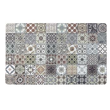 Amazon Com Kitchen Mat Kimode Waterproof Kitchen Rugs Cushioned