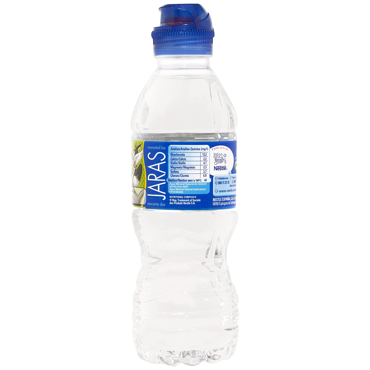Nestlé Aquarel Agua Mineral Natural, Tapón Sport - 33 cl: Amazon.es: Amazon Pantry