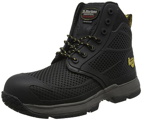 Dr. Martens Calamus, Zapatos de Seguridad para Hombre, Negro (Black 001)