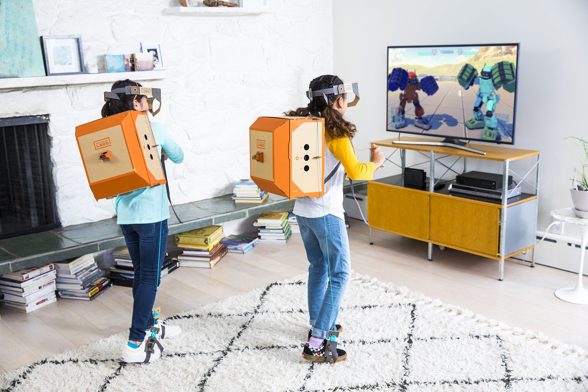 Nintendo Labo Robot Kit | Nintendo LABO Robot Kit for Nintendo Switch