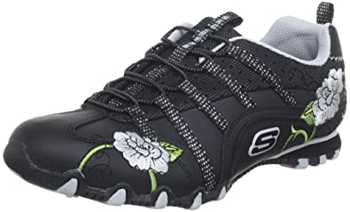 Skechers Bikers Flower Girl 99999028 WBKR, Damen Sneaker