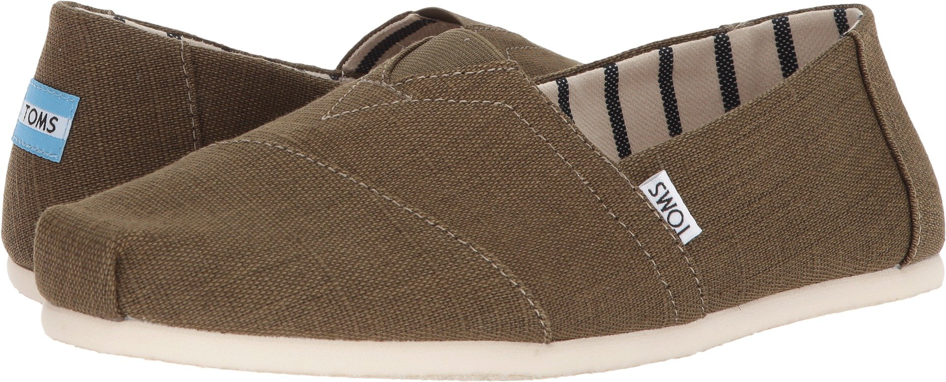 TOMS Men's Classic Military Olive Casual Shoe 10.5 Men US