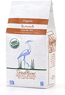 product image for Great River Organic Milling Organic Buttermilk Pancake Mix, 2 Pound Bags (Pack of 4)