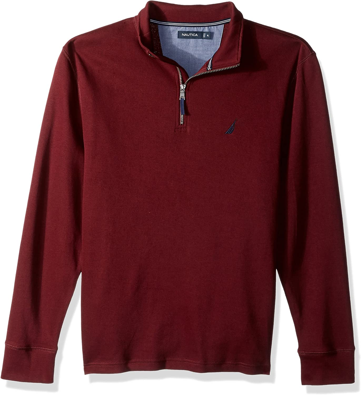 Mens Polo Nautica Long Sleeve 1//2 Zip Up Classic Original 100/% Cotton GIFT NEW .
