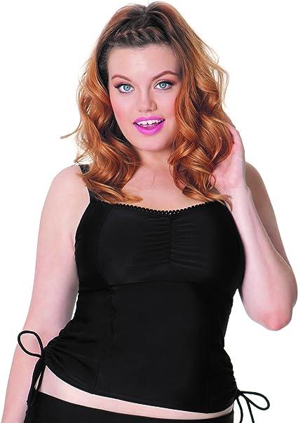 TALLA 85D. Curvy Kate Jetty Balcony Tankini Mujer
