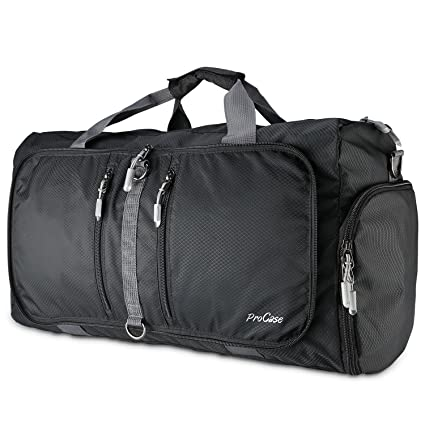 9e900aff00 Amazon.com  ProCase Foldable Travel Duffel Bag