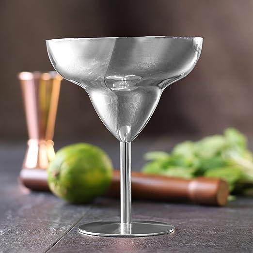 Acero inoxidable copas de Margarita ml/300 ml - Metal vasos ...