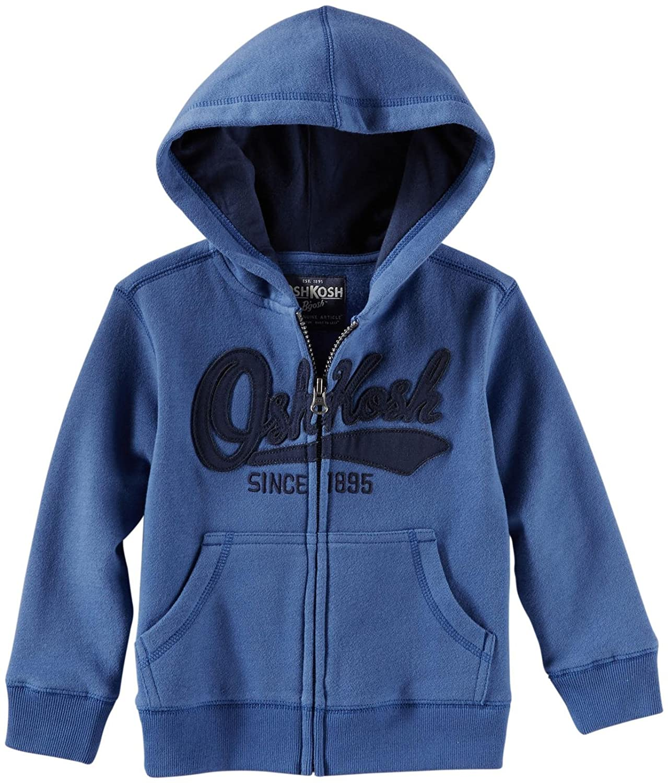 OshKosh BGosh Baby Boys Logo Fleece Hoodie Baby