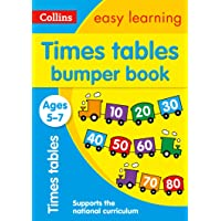 Times Tables Bumper Book Ages 5-7: KS1 Maths Home Learning and School Resources from the Publisher of Revision Practice…