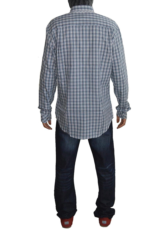 Gentleman Farmer Chemise de costume Homme à carreaux fines (L 9074007a8d0