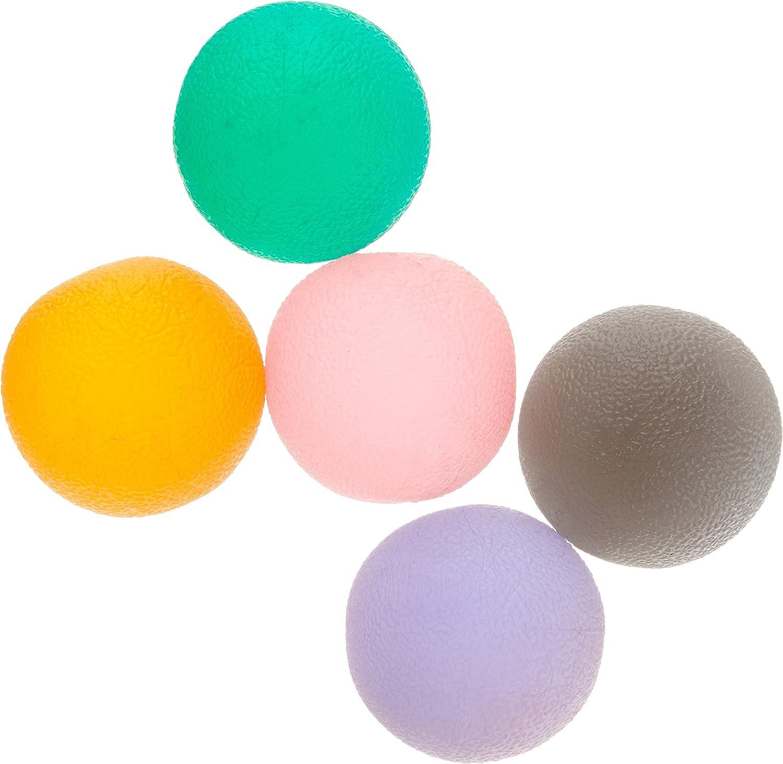Patterson Medical - Juego de 5 pelotas de rehabilitación para las ...