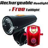 yalumi Bike Headlight and Taillight Combinations
