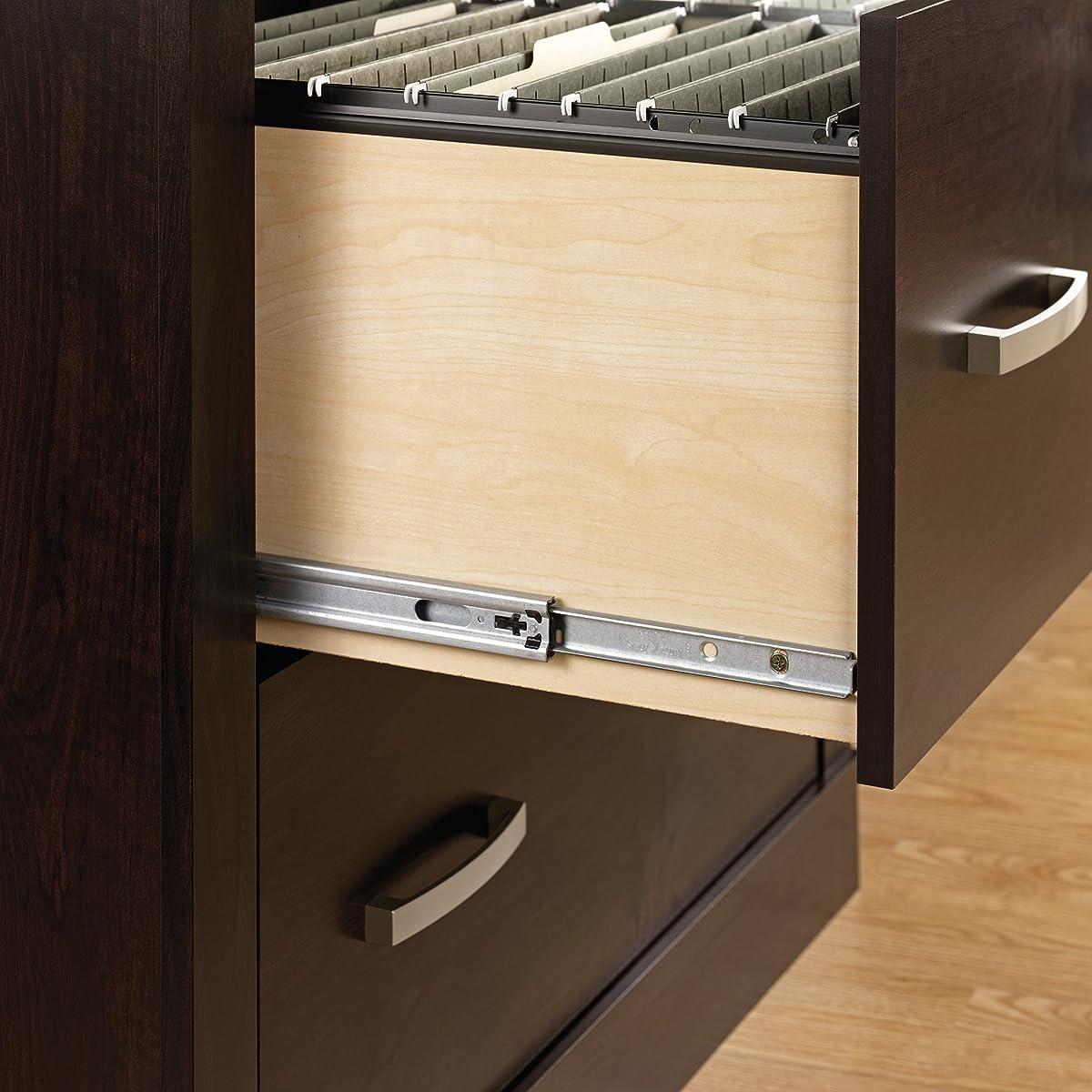 Sauder 408293 Office Port File Cabinet, Dark Alder