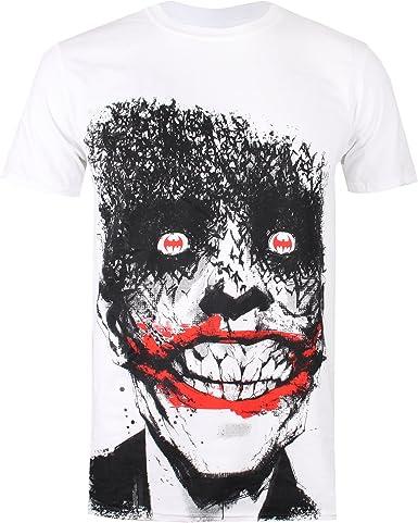 DC Comics Joker Eyes Camiseta para Hombre: Amazon.es: Ropa y accesorios