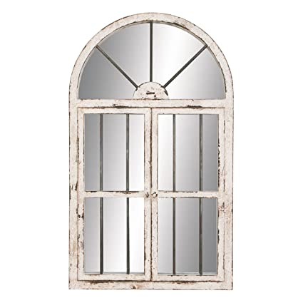 Deco 79 74397 Wood Window Mirror 42u0026quot ...  sc 1 st  Amazon.com & Amazon.com: Deco 79 74397 Wood Window Mirror 42