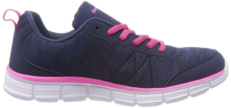 KangaROOS Damen Kr-Run Ref Navy/Daisy Sneaker, Blau (Dk Navy/Daisy Ref Pink) 2ff99c