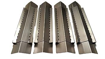Set of 4 BBQ Gas Grill Heat Plate Heat Shield Heat Tent Burner  sc 1 st  Amazon.com & Amazon.com : Set of 4 BBQ Gas Grill Heat Plate Heat Shield Heat ...