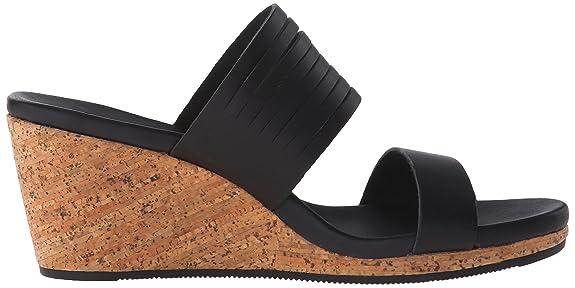 Teva Damen Arrabelle Slide Leder Sandale: Amazon.de: Schuhe & Handtaschen