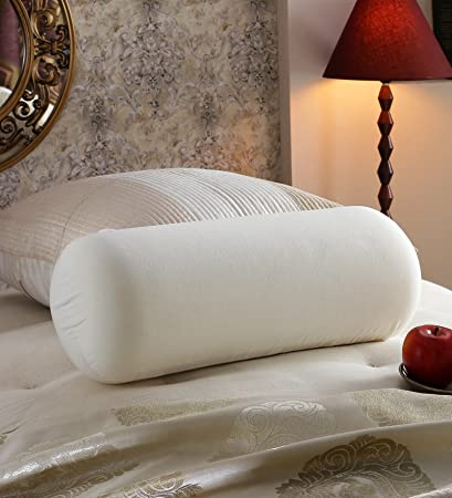hotel quality white bed bolster pillows for sleeping set of 2 pcs 23u0026quot