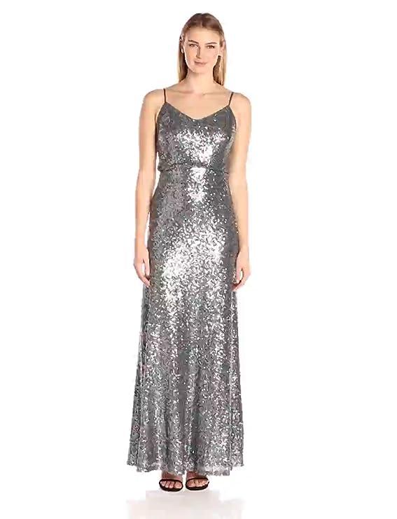 644d95805231 Amazon.com: Jenny Yoo Women's Jules Sequin Blouson Gown: Clothing
