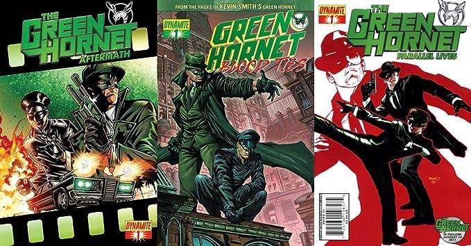 Amazon Com The Green Hornet Aftermath 1 2011 Green Hornet Blood Ties 1 2010 2011 The Green Hornet Parallel Lives 1 2010 Limited Series Dynamite Comics 3 Comics Entertainment Collectibles
