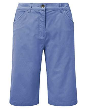 876644e3902 Cotton Traders Womens Ladies Casual Chino Shorts 13.5 Inches Inside Leg  Colour Dusky Lavender Size 0  Amazon.co.uk  Clothing
