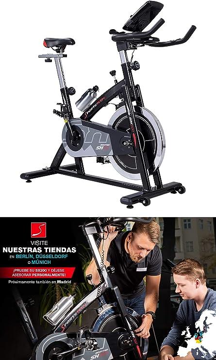 Sportstech Bicicleta estática Profesional SX200 -Marca de Calidad ...