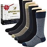 Diabetic Socks for Men, Premium, Soft, Extra Comfortable. 6 Pairs