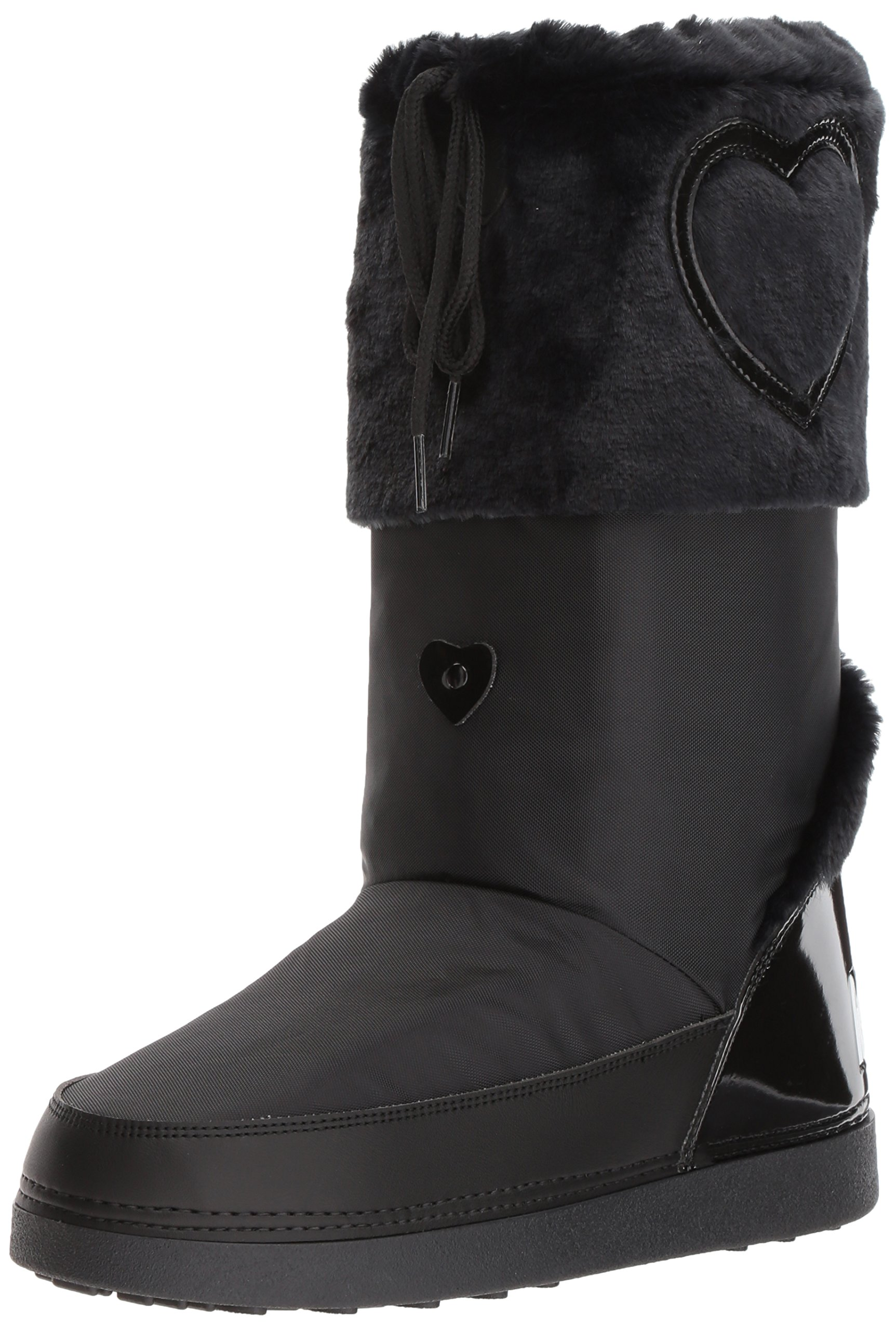 Love Moschino Women's JA24232G04JK200A Fashion Boot, Black, 37-38 M EU (7-8 US)