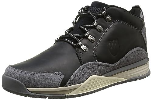 #K-Swiss Eaton P CMF, Zapatillas Para Hombre, Negro (Black/Charcoal/Antique White 052), 42.5 EU