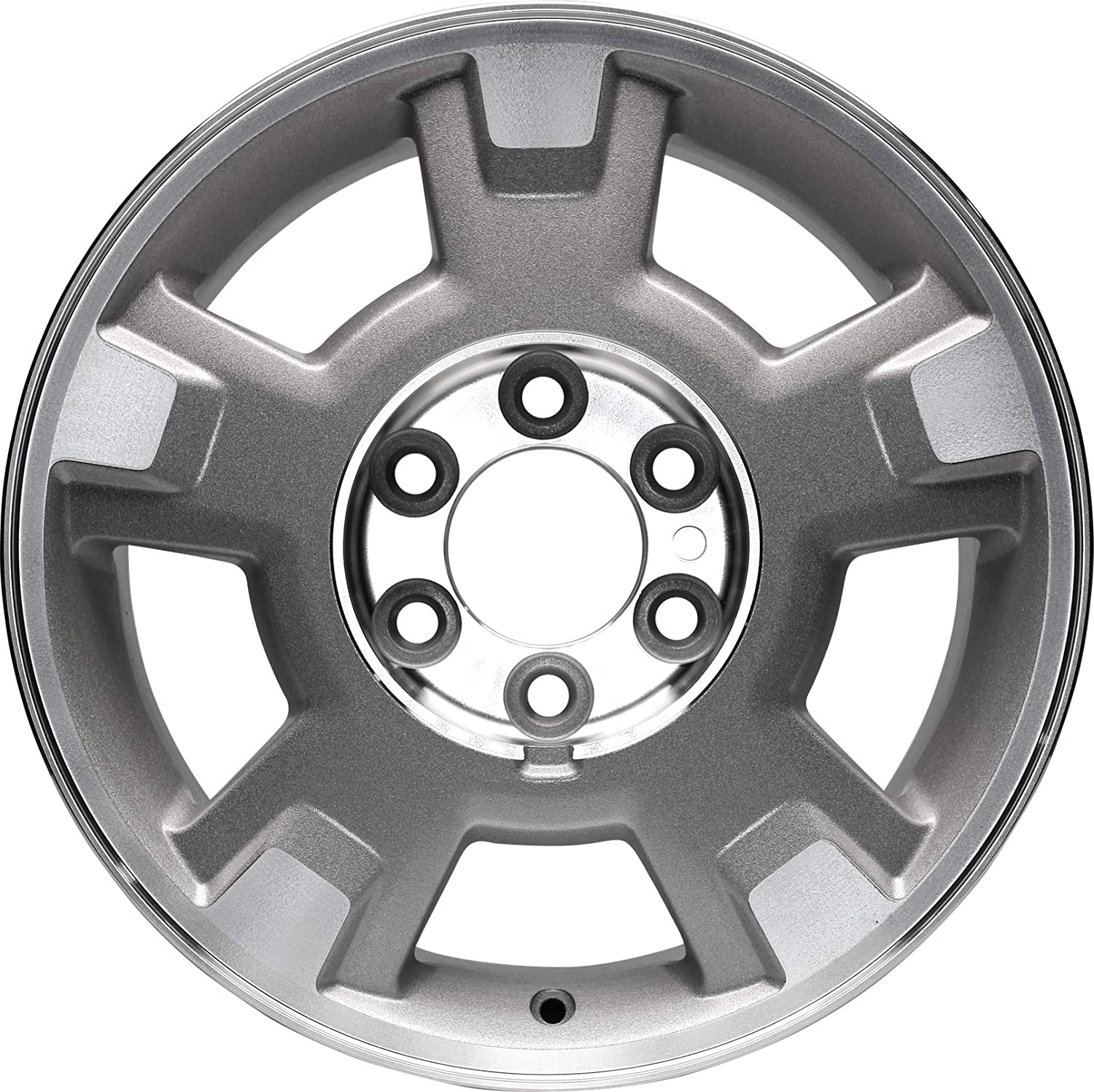 Partsynergy Replacement For New Aluminum Alloy Wheel Rim 17 Inch Fits 2009-2014 Ford F-150 6-127mm 5 Spokes