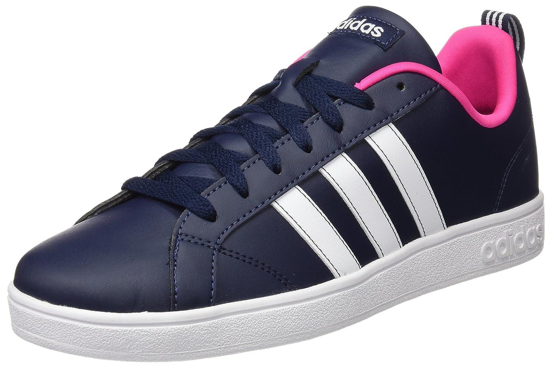 adidas Damen Advantage Vs W Turnschuhe  36 2/3 EU|Schwarz (Collegiate Navy/Ftwr White/Shock Pink?)