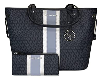 63ef734aadcb Image Unavailable. Image not available for. Color: MICHAEL Michael Kors Jet  Set Travel ...