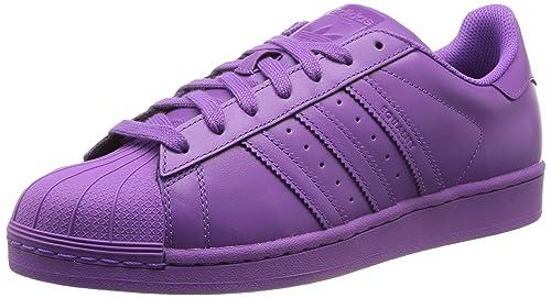 new styles 01f78 cbaeb adidas Superstar Supercolo, Scarpe Sportive, Unisex - Adulto, Viola  (Raypur Raypur