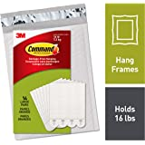 Command PH206-14NA Heavy Duty, Holds 16 lbs Picture Hanging Strips, 14 Pairs, White, 14 Pack