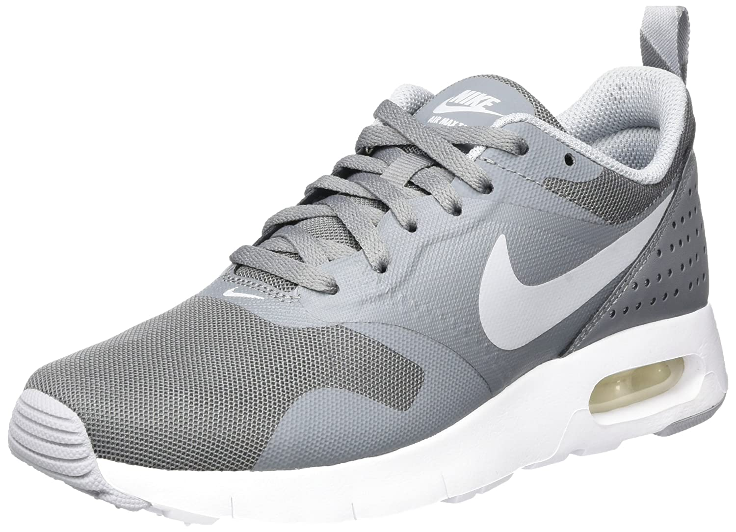super popular 85158 0389e Amazon.com   Nike Kids Air Max Tavas (GS) Cool Grey Wolf Grey White Running  Shoe 6 Kids US   Shoes