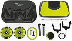 Wonder Core Genius 10-in-1 All Round Training at Home Workout System - 100 Different Exercises and Personal Training App - Fitness Interactive Game - Easy Construction - Ideal for Any Fitness Level