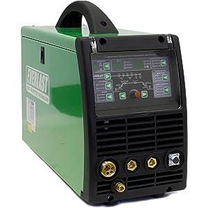 2018 Everlast PowerMTS 211Si MIG TIG Stick 200amp 110v/220v Multi Process new Welder