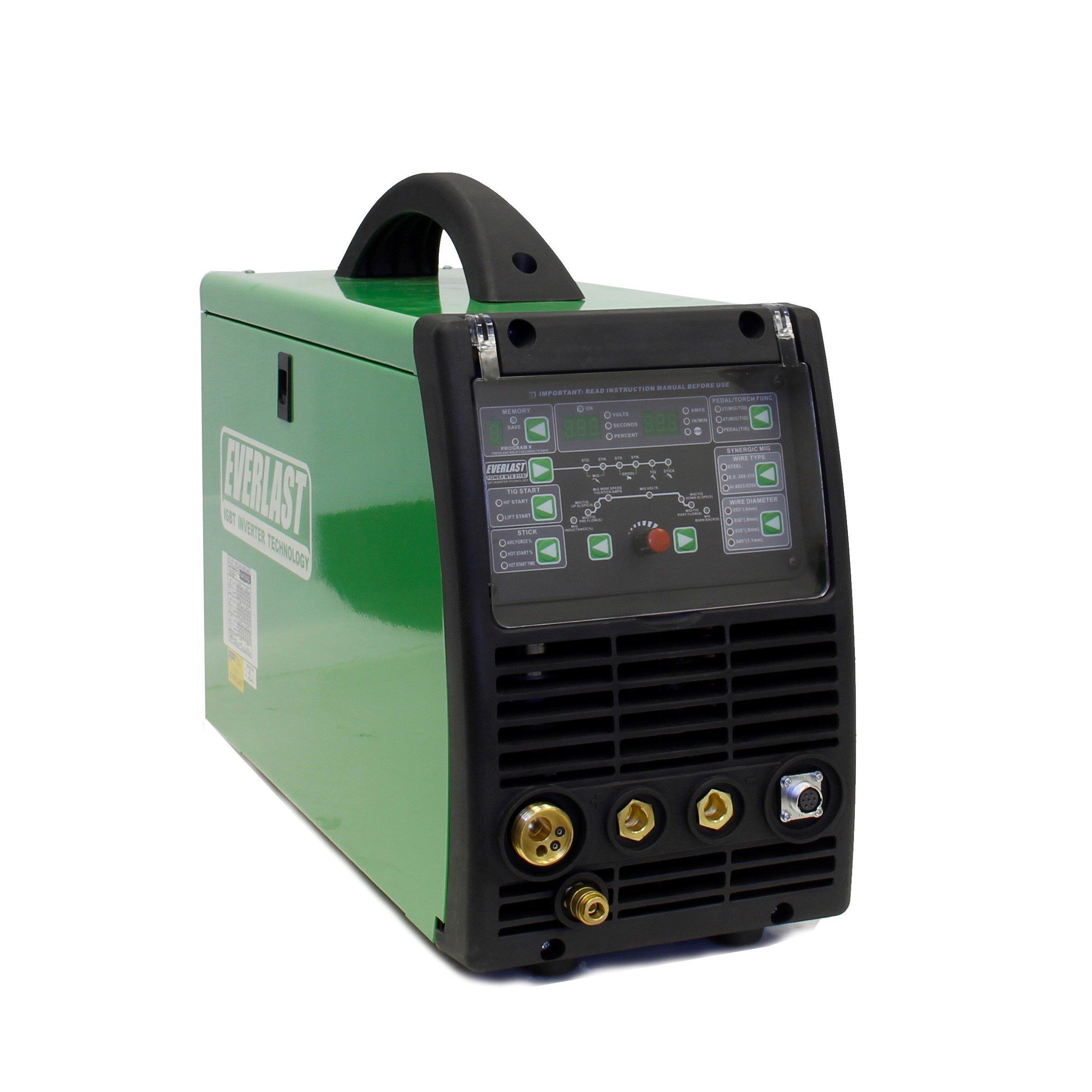 2018 Everlast PowerMTS 211Si MIG TIG Stick 200amp 110v/220v Multi Process new Welder by Everlast Power Equipment (Image #1)