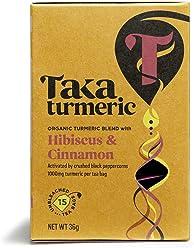 TAKA TURMERIC Organic Golden Hibiscus 15sach (PACK OF 1)