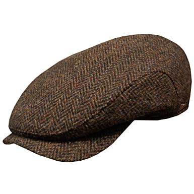 Wigens Hans Ivy Style Harris Tweed Cap with Earlaps at Amazon Men s ... 441b2ead9bc