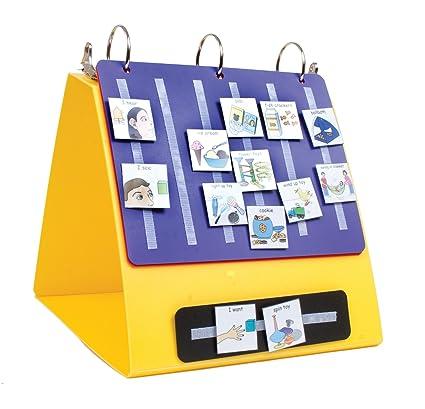amazon com activity binder picture exchange communication system
