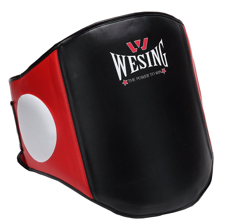 Belly Pad pecho guardia boxeo protector de cuerpo artes marciales Rib Shield Armour Taekwondo formació n por wesing