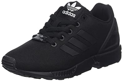 sale retailer 32f62 8aa39 adidas ZX Flux, Baskets Mixte Enfant, Noir Core Black 0, 28 EU