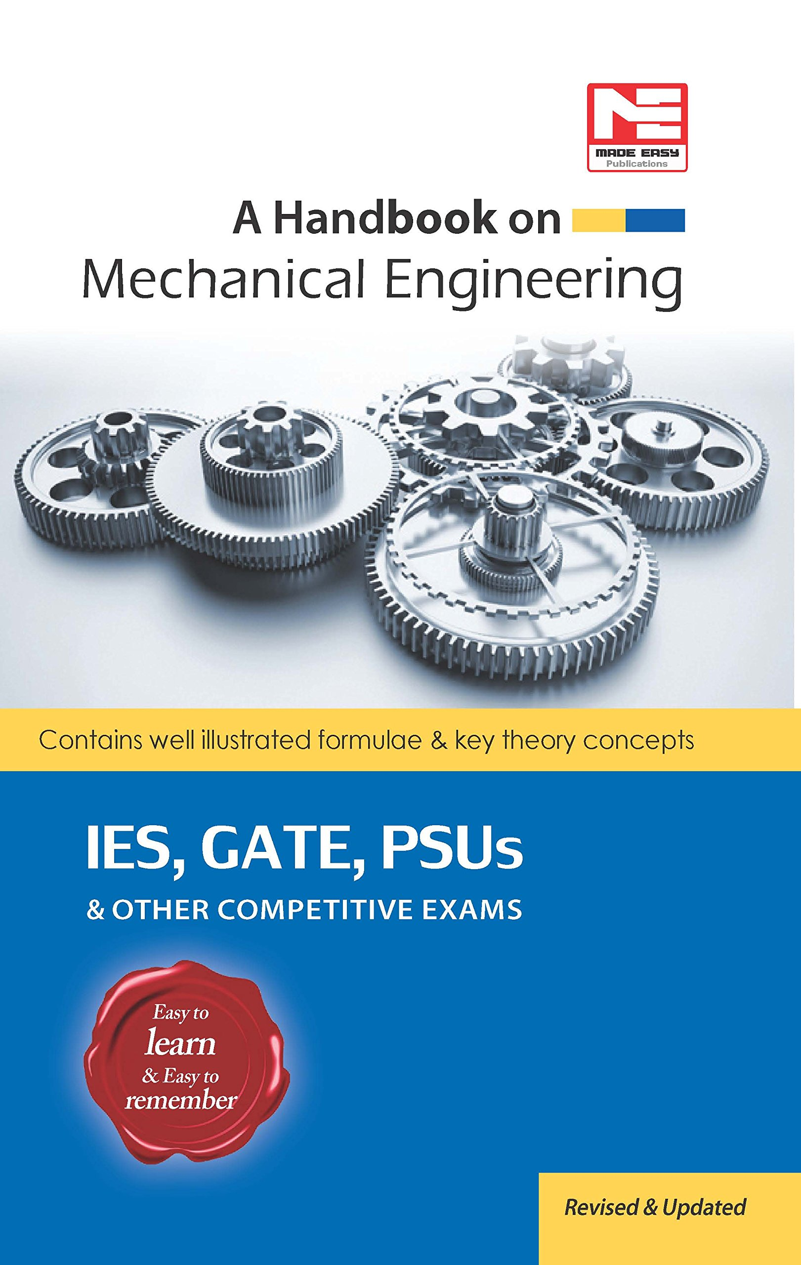 A Handbook on Mechanical Engineering - Contains well