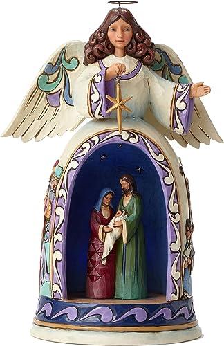 Jim Shore Lighted Nativity Angel