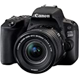 Canon EOS 200D 18-55 IS STM + Canon 50mm STM Lens Bundle Kit