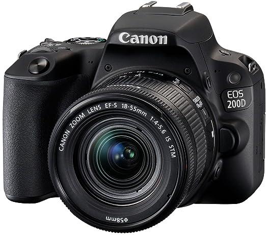 2 opinioni per Canon EOS 200D Fotocamera Digitale Reflex con Obiettivo EF-S 18-55mm f/4-5.6 IS