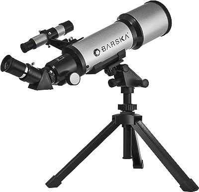 BARSKA Refractor Telescope w/ Tabletop Tripod